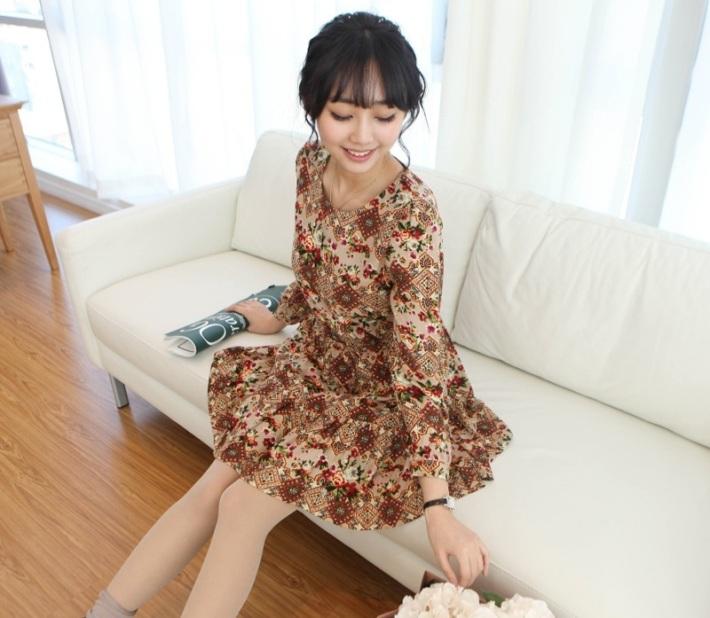 Suvin - Vintage Rose dress - 2