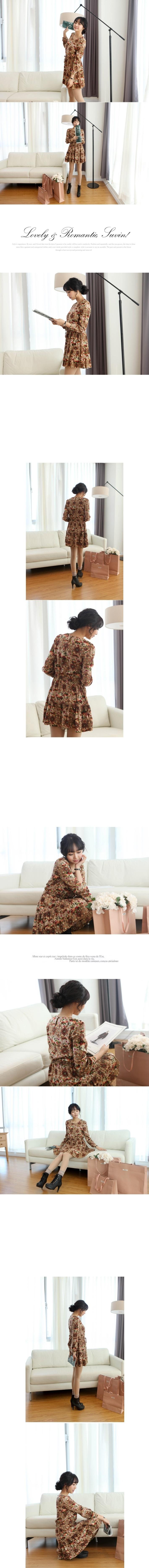 Suvin - Vintage Rose dress - 3