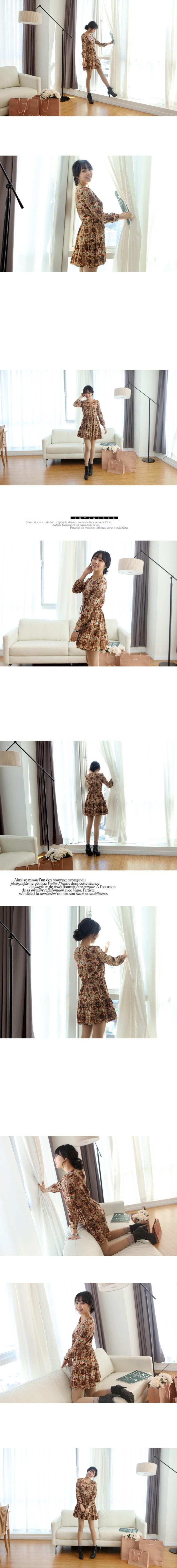 Suvin - Vintage Rose dress - 4