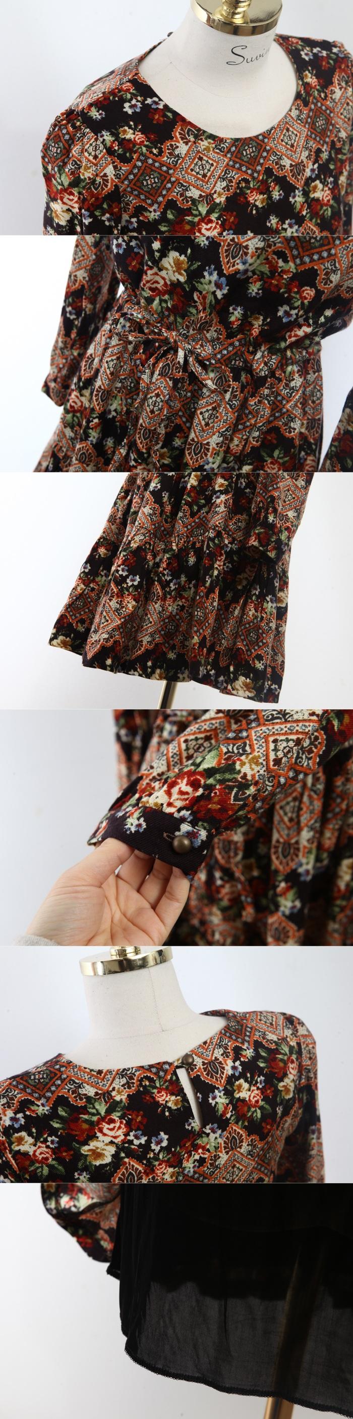 Suvin - Vintage Rose dress - 6